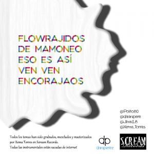 Trasera: Flowrajidos - Rap a polvos