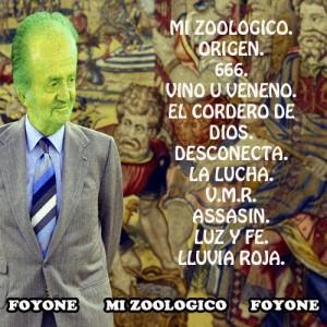 Trasera: Foyone - Mi zoológico