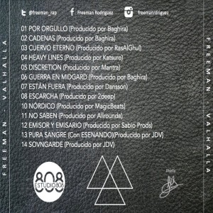 Trasera: Freeman Rodríguez - Valhalla