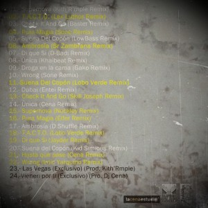 Trasera: Freshmakers - The remixtape