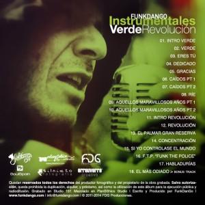 Trasera: Funkdango - VerdeRevolución (Instrumentales)
