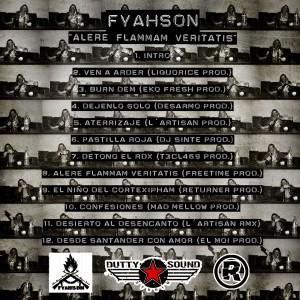 Trasera: Fyahson - Alere flammam veritatis