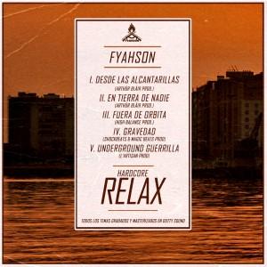 Trasera: Fyahson - Hardcore relax