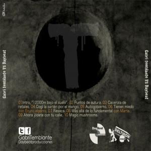 Trasera: Gabri Temblante y Daybeat - 12.000m bajo el suelo