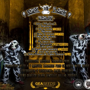 Trasera: Garolo - Vakes Flakes CD 1