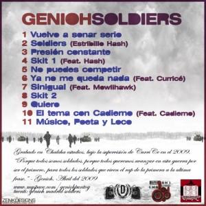 Trasera: Genioh - Soldiers