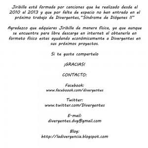 Trasera: Geño y Divergentes - Jiribilla