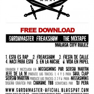 Trasera: Gordo Master - Freak show the mixtape