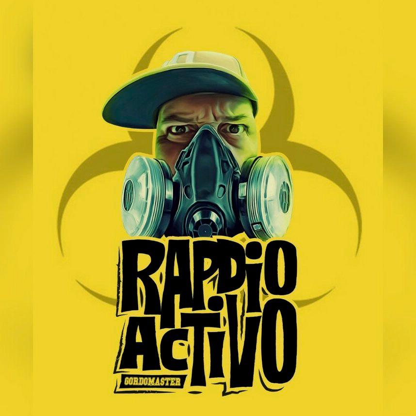 Gordo Master - Rapdioactivo (Ficha con tracklist)