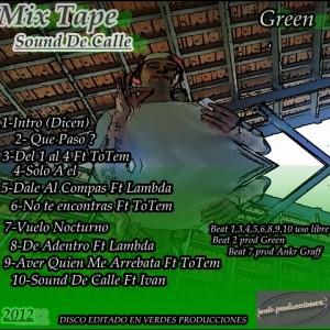 Trasera: Green ADR - Sound de calle