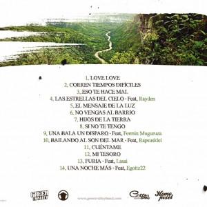Trasera: Green Valley - Hijos de la tierra
