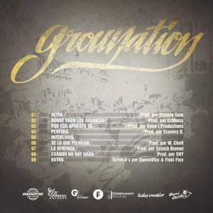 Trasera: Grounation - Donde caen los gigantes