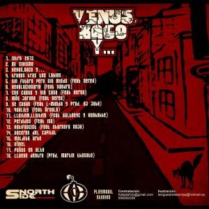 Trasera: HCB - Venus, baco y...