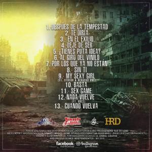 Trasera: HRD - Después de la tempestad