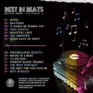 Trasera: Hibe y Dj Keal - Rest in Beats [Ballistic Series Vol. 3]