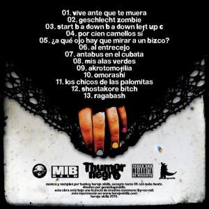 Trasera: Huzkey - Thumor negro (Instrumentales)