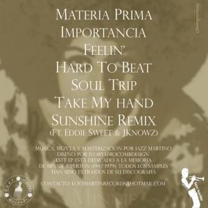 Trasera: Iazz Martino - Minnie (Instrumentales)