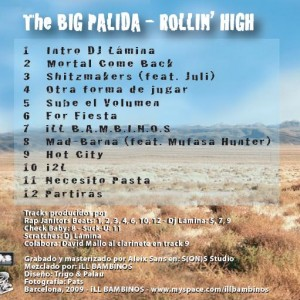 Trasera: Ill bambinos - The big palida Rollin high