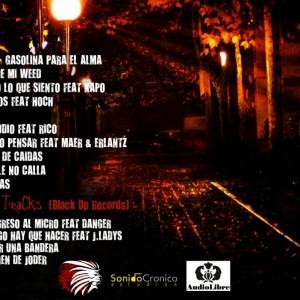 Trasera: Inix y Rap Record - La calle no calla