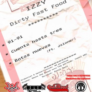 Trasera: Izzy - Dirty fast food noviembre