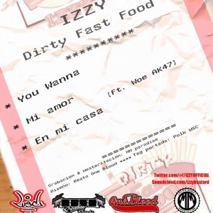 Trasera: Izzy - Dirty fast food octubre