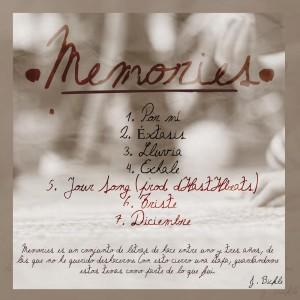 Trasera: J. Bickle - Memories