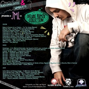 Trasera: JML - Deluxe remix collection