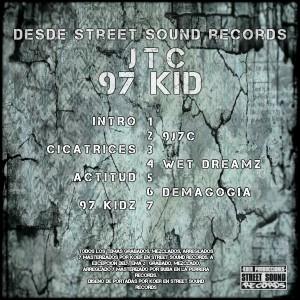 Trasera: JTC - 97 Kid