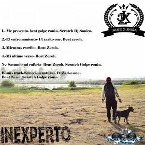 Trasera: Jake Zuñiga - Inexperto