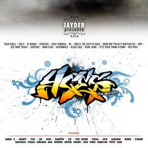 Deltantera: Jayder - Las cuatro ces (Mixtape)