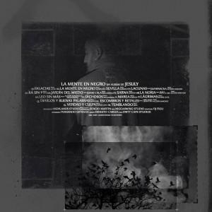 Trasera: Jesuly - La mente en negro
