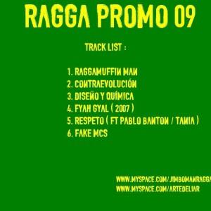 Trasera: Jimboman - Ragga promo 2009