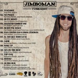 Trasera: Jimboman - Tuneshot