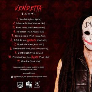 Trasera: Jimboman - Vendetta