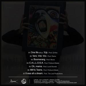 Trasera: Jimeno - Rap n' boom bap