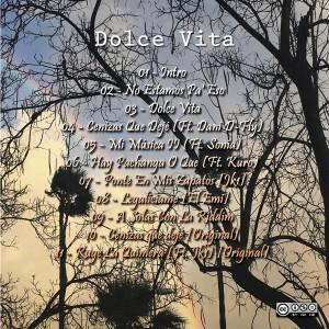 Trasera: Jk1 y Emi - Dolce Vita