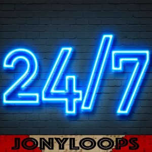 Deltantera: Jonyloops - 24/7 Vol. 5 (Instrumentales)
