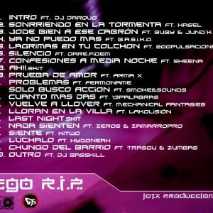 Trasera: Jotaproducciones - egoR.I.P.