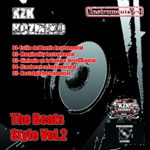 Trasera: KZK kozmiko - The beat style Vol. 2 (Instrumentales)