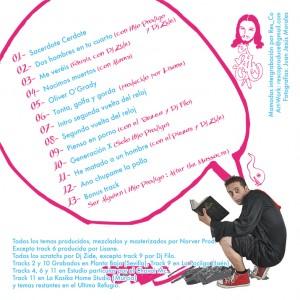 Trasera: Kako y Norver Producciones - Oliver Ogrady
