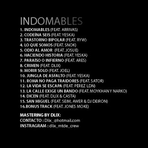 Trasera: Kalas - Indomables