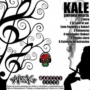 Trasera: Kale - Sinfonia inedita