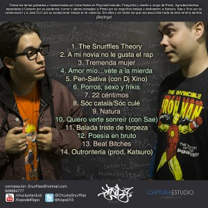 Trasera: Kapo 013 y Chucky - The snurffles theory