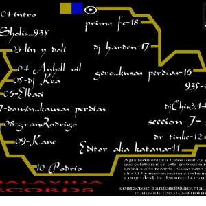 Trasera: Kausas perdias y 935 - Mixtape DJ Harden 2006