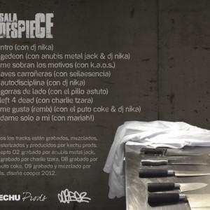 Trasera: Kechu prods - Sala de despiece