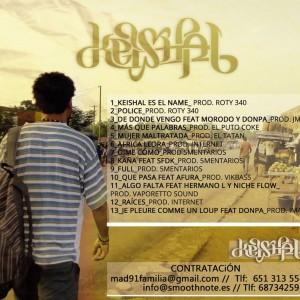 Trasera: Keishal - El esperado