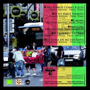 Trasera: Ki.N.S. Sound? - Sound Reggae