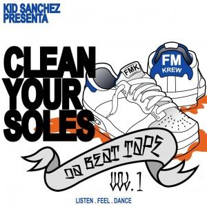 Deltantera: Kid Sanchez - Clean your soles Vol. 1 (Instrumentales)