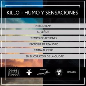 Trasera: Kill-o - Humo y sensaciones