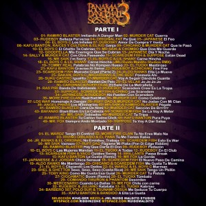 Trasera: King-Der y JML - Panama dancehall session Vol. 3